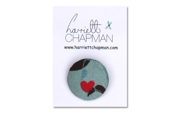 Harriett Chapman Design-Green Tea Lights Button
